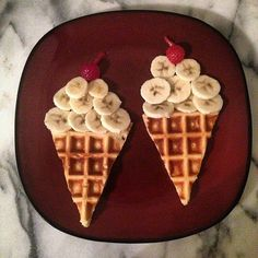 Ice Cream For Breakfast: Trick your kids with this piece of edible art.  Source: Instagram user jessgowithit