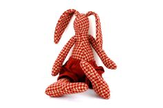 SALE  Woodland plush rabbit made from pendleton by TIMOHANDMADE
