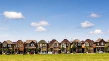 House prices declined in much of the Greater Toronto Area in the second quarter of this year, particularly in Richmond Hill, Markham and Vaughan, according to the real estate firm Royal LePage. Real Estate Investor, Real Estate Marketing, Pay Off Mortgage Early, Greater Toronto Area, Capital Gain, Investment Property, Investment Companies, House Prices, Home Buying