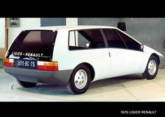 1975 Renault 14 coupe Ligier prototype