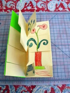 flip book use for writing beginning, middle, middle, end