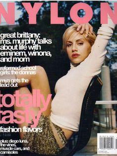 Brittany Murphy - Nylon Magazine Cover [United States] (October 2002)