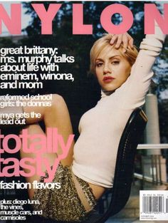 Brittany Murphy - Nylon Magazine Cover [United States] (October 2002)