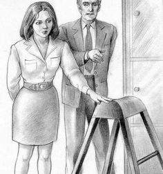 "paulaspankingart: "" ""Employees whose performance is unsatisfactory are placed here to have their bare bottoms soundly spanked. Work hard, young lady, or it will be you horsed over the bench, kicking and screaming as your bottom is paddled."" """