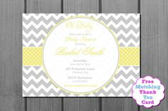 Baby Shower Invitation Backgrounds Free Mesmerizing Printable Baby Shower Invitations Pink And Grey Chevron Stripes Diy .