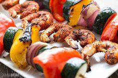 Recipe: Skinny Cajun Shrimp Skewers   Skinny Mom   Where Moms Get the Skinny on Healthy Living