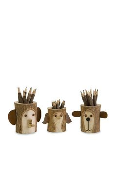 cutest pencil holders ever!!!!