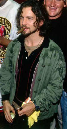 Eddie Vedder, my favorite punk badass! What a man.