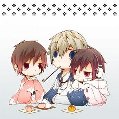 Anime Chibi | anime, chibi, cute, durarara, izaya - inspiring picture on Favim.com
