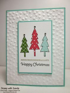 Stamp With Sandy: Life in the Forest Christmas