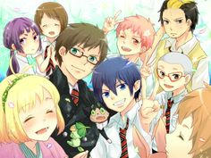 Blue Exorcist, love all the characters :)