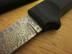 Acid Knife Etching | DIY | Quick and easy way of making your knife look cool.