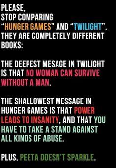 Funny Hunger Games | Twilight vs. hunger games | Funny