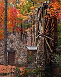 ~~Old Mill, Autumn at Berry College, Mount Berry, Floyd County, Georgia by R Clegg Photography~~