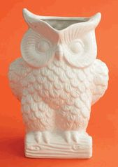 White Owl Pitcher by Two's Company