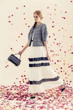 Falling Pedal Lookbooks - The Alice + Olivia Resort 2014 Line Channels the Boarding School Girl (GALLERY)