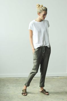 These pants look comfy. Utility Pants | Clad & Cloth.jpg