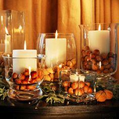 decoração com velas - Pesquisa Google