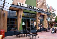 starbucks storefront | Starbucks said it plans to open the first of six Starbucks cafes at ...
