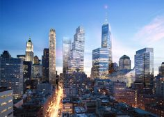 BIG unveils replacement for Foster's Two World Trade Center design.