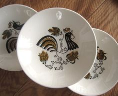 Good Morning 1950s Dinnerware by Royal #mid century