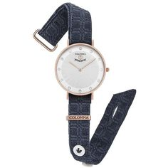Watch with macro fantasy jeans band