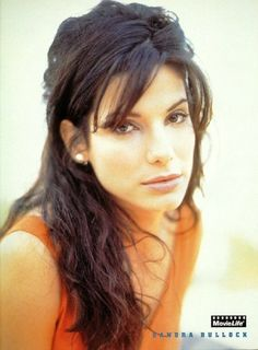 """This is a great picture of Sandra Bullock - probably when she was younger. Enjoyed her acting in """"The Blind Side"""". #blindside #sandrabullock #lapeerwebdesign"""