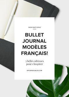Voici votre dose d'inspiration en bullet journal! 3 françaises partagent leur méthode pour avoir un joli bullet journal. BUJO powa!