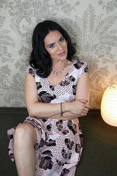 Carla Vila, model/ actress