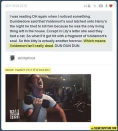 More Harry Potter books…