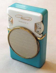 Vintage Marvel 6-Transistor Radio, Model 6 YR-15A, Made in Japan, Circa 1961.