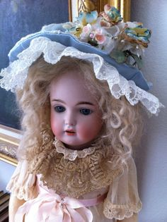 RARE Adorable German J D Kestner 18 inches The Original 171 Daisy Antique Doll | eBay