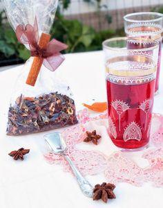 Nem acredito que é saudável!: Chá de Natal . Christmas Tea