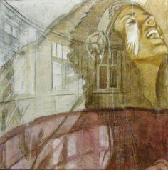 JOHANNA KALLiOiNEN  Charcoal, Acrylic and Oil Painting