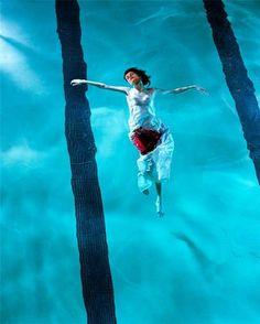 """""""Floating"""" by Steven Meisel"""