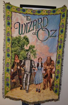 WIZARD OF OZ BLANKET - IN EXCELLENT CONDITION!!