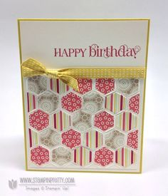Hot Trend: Embossing Birthday Cards