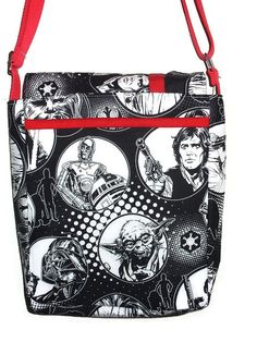 YES YES!! Star Wars Messenger Bag by yareliej on Etsy
