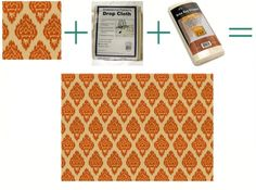 Making your own personal rug (so you can choose your own fabric/pattern/size) and a drop cloth, and gripper, voila!