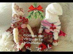 """""""DIY"""" Christmas Gnome Tutorial Super Easy - Tutorial Gnoma de Navidad Super Fácil """"Subtítulos"""" - YouTube"""