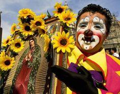Sunflower Clown