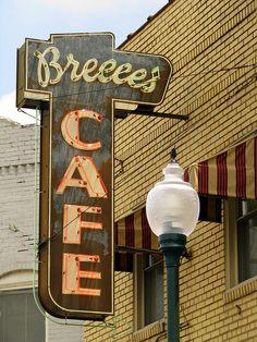 Breece's Cafe.....Centerville, TN. Eaten here many times, the best breakfasts and Lemon refrigerator pie.