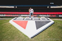 Ensaio   Tatiana e Marcel   Estádio do Morumbi   SP   Jeff e Gal   Foto e Filme