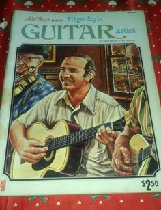 Guitar Method/Instruction Book-Mel Boyds Basic/1974