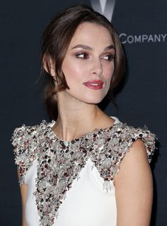 "Keira Knightley Photos Photos - Actress Keira Knightley attends the screening of The Weinstein Company's ""The Imitation Game"" hosted by Chanel  at the Directors Guild of America Theater on November 10, 2014 in Los Angeles, California. - 'The Imitation Game' Screening in LA — Part 3"