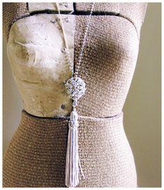 Renu Silk tassel pendant