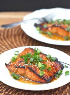 Toasted Sesame Ginger Salmon    Made this tonight and it's a keeper.  Yum!!