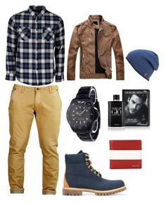 """""""Men's Wear"""" by stephanie-lambert-varrin on Polyvore featuring United by Blue, Timberland, Rolex, Bally, Giorgio Armani, Polo Ralph Lauren, men's fashion and menswear"""