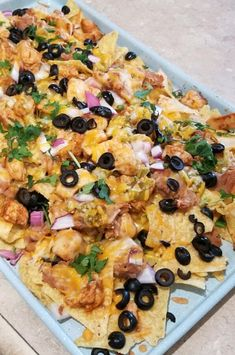 """Chicken Nachos 