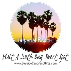 Visit a South Bay Sweet Spot ... Imperial Beach, California  www.seasidecandyandgifts.com  #sandiego #imperialbeach #california #sunsets #candyshop #local #sweet #southbay #visit #beach #beachlife #sandiegoliving #sdstylebloggers #shopsmall #social #travel #travelgram #sdfooddiaries #new #beautiful #instadaily #instagood #instapic #marketing #cool #best by seaside_candy. sdfooddiaries #california #local #beach #travel #social #instagood #new #shopsmall #travelgram #cool #sandiego #instadaily…